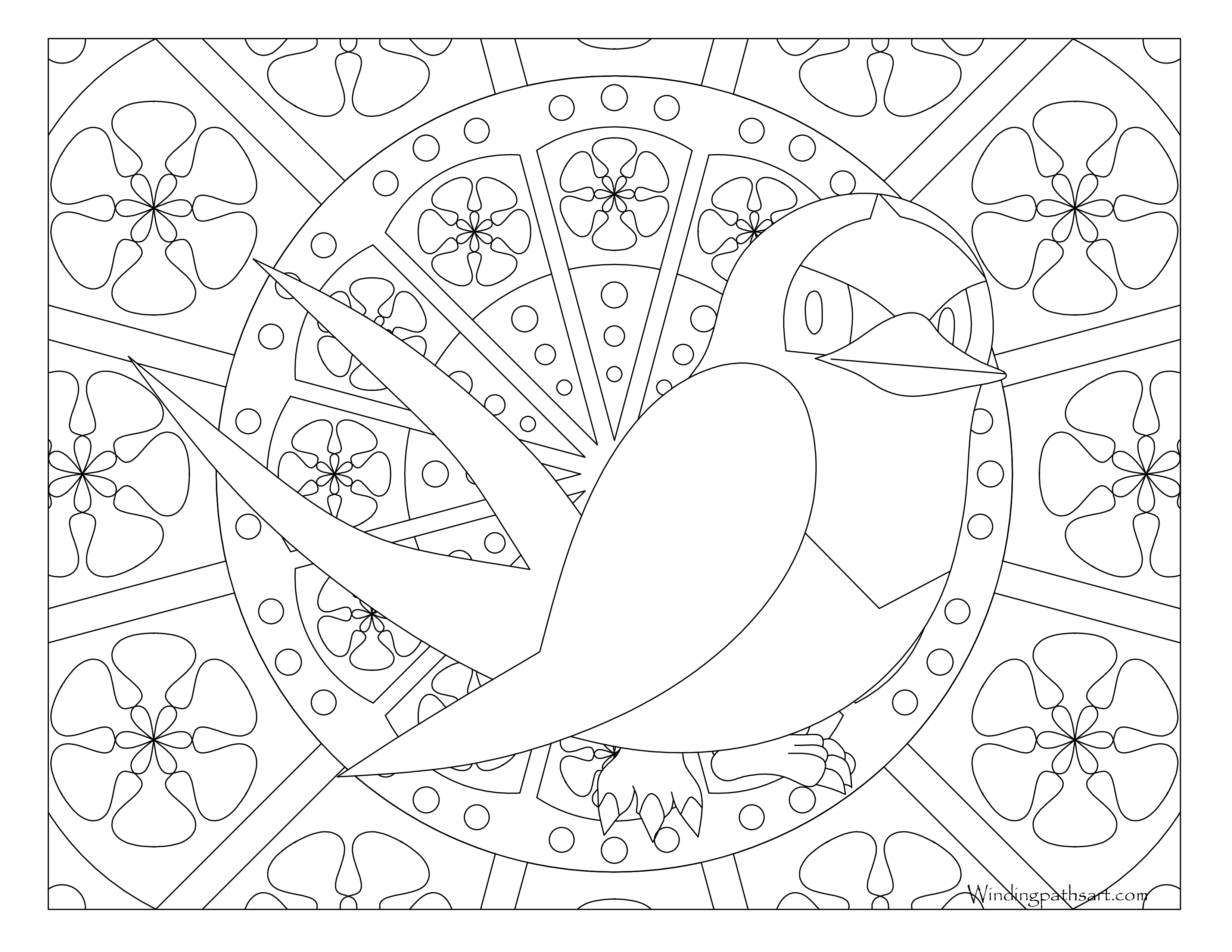 276 Taillow Pokemon Coloring Page Windingpathsart
